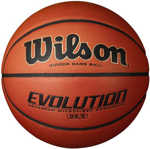 "Wilson Evolution Indoor Game Ball Basketball Intermediate Size 6 - 28.5"""