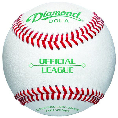 Diamond DOL-A Official League Leather Baseballs