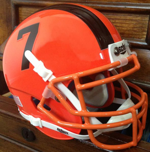 Oregon State Beavers Alternate Orange Schutt Mini Authentic Helmet