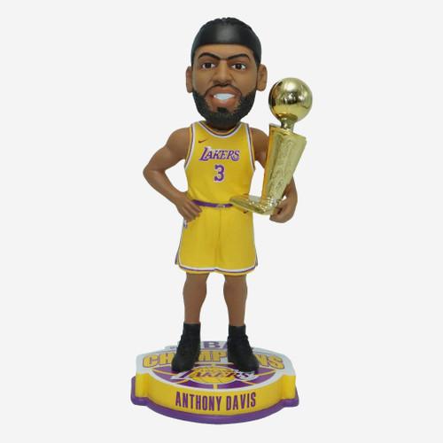 "Anthony Davis Los Angeles Lakers 2020 NBA Champions 8"" Player Bobblehead Doll Bobble Head"