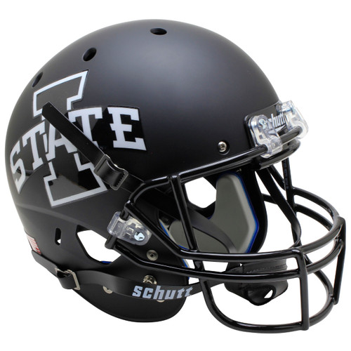 Iowa State Cyclones Matt Black Schutt Full Size Replica Football Helmet