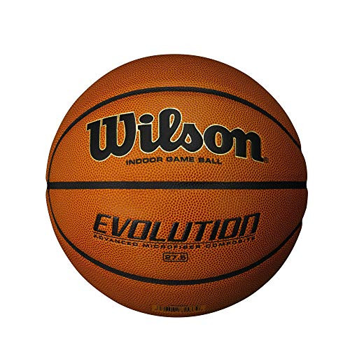 """Wilson Evolution Indoor Game Ball Basketball - Youth Size 27.5"""""""