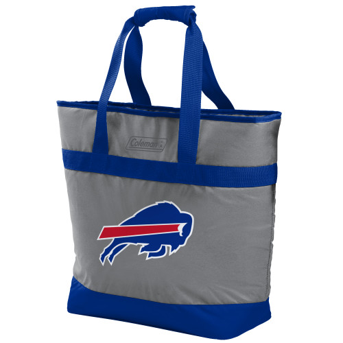 Buffalo Bills NFL Soft-Side Insulated Large Tote Cooler Bag, 30-Can Capacity