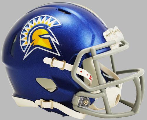 San Jose State Spartans NCAA Revolution SPEED Mini Football Helmet
