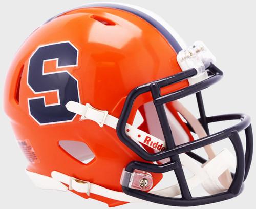 Syracuse Orangemen NCAA Revolution SPEED Mini Football Helmet