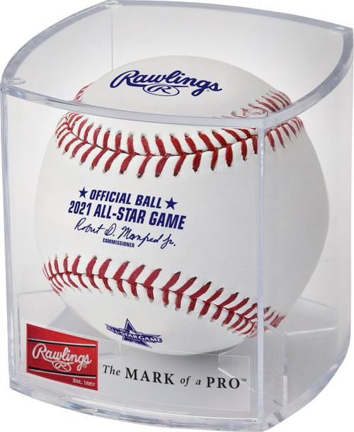 Rawlings 2021 MLB All‑Star Game Logo Baseball in Cube - Colorado Version