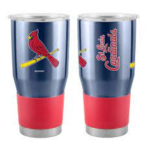 St. Louis Cardinals MLB 30 oz. Curved Ultra Insulated Tumbler Cup - Navy Blue