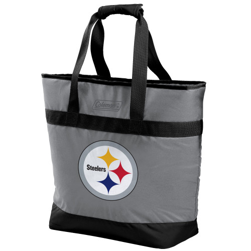 Pittsburgh Steelers NFL Soft-Side Insulated Large Tote Cooler Bag, 30-Can Capacity