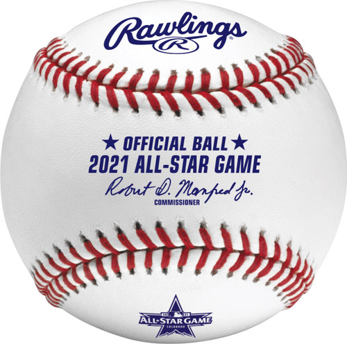 2021 MLB Official All-Star Game Baseball in Box - Colorado Version