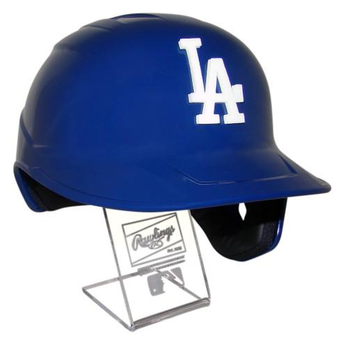 Los Angeles Dodgers with 3D LA Logo Official Mach Pro Replica Baseball Batting Helmet