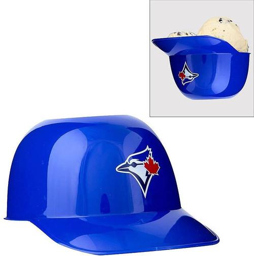 Toronto Blue Jays MLB 8oz Snack Size / Ice Cream Mini Baseball Helmets - Quantity 12