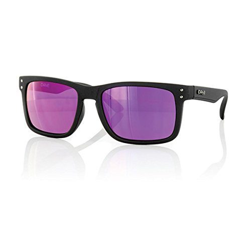Carve Goblin Sunglasses - Matt Black Frame / Purple Iridium Lens