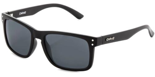Carve Goblin Matt Black Smoke Sunglasses Non Polorized