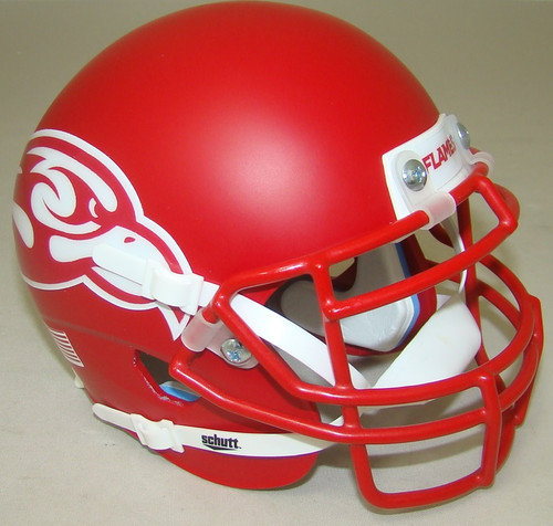 Liberty Flames Alternate Red Schutt Mini Authentic Football Helmet