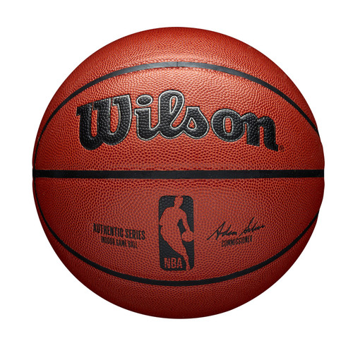 Official NBA Authentic Indoor Game Basketball by Wilson
