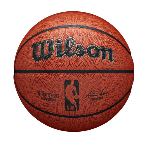 Official NBA Authentic Indoor / Outdoor Game Basketball by Wilson