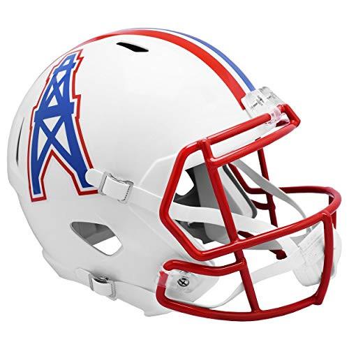 Houston Oilers 1981-1998 Throwback SPEED Riddell Full Size Replica Football Helmet