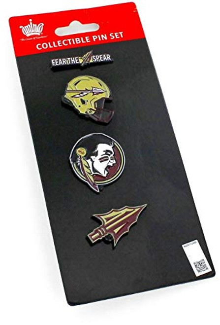 NCAA Florida State Seminoles Team Pride Collectible Lapel Pin Set 4-Pack