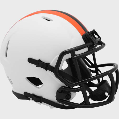 Cleveland Browns Lunar White Revolution Speed Mini Football Helmet