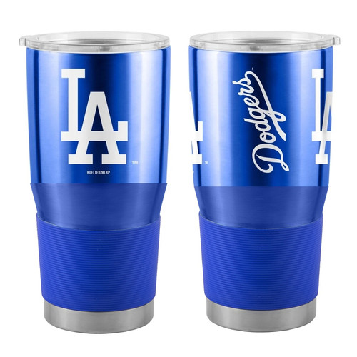 Los Angeles Dodgers MLB 30 oz. Curved Ultra Insulated Stainless Tumbler Mug Cup Drink Holder