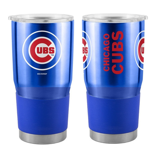 Chicago Cubs MLB 30 oz. Curved Ultra Insulated Stainless Tumbler Mug Cup Drink Holder