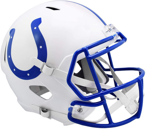 Indianapolis Colts 1995 to 2003 Throwback SPEED Riddell Full Size Replica Football Helmet