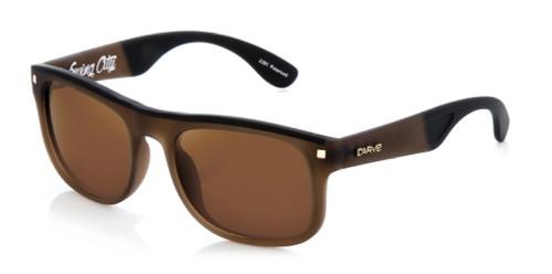 Carve Swing City Sunglasses - Matte Brown Frame / Brown Lens - Polarized