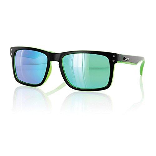 Carve Goblin Sunglasses - Matte Black Frame / Green Iridium Lens - Polarized