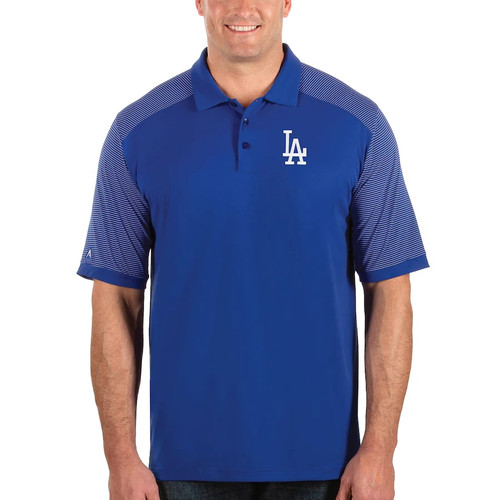Los Angeles Dodgers MLB Men's Engage Polo Shirt by Antigua