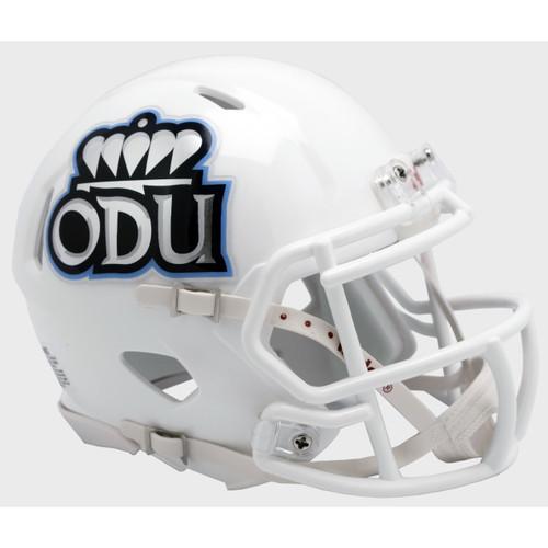 Old Dominion Monarchs White Riddell Speed Mini Football Helmet
