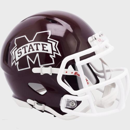 Mississippi State Bulldogs 2021 NCAA Riddell SPEED Mini Football Helmet
