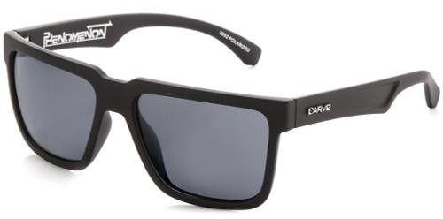 Carve Phenomenon Sunglasses - Matte Black Frame / Grey Lens - Polarized