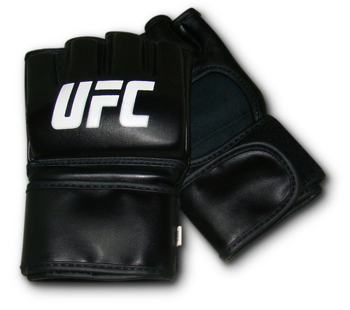 MMA Synthetic Leather Autograph UFC Fight Gloves