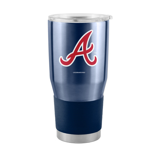 Atlanta Braves Blue MLB 30 oz. Curved Ultra Insulated Tumbler Cup