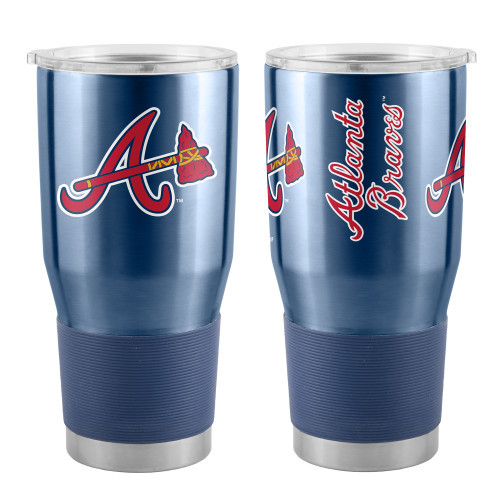 Atlanta Braves Blue Tomahawk MLB 30 oz. Curved Ultra Insulated Tumbler Cup