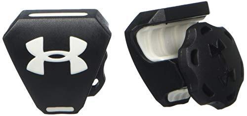 Under Armour Football Helmet Visor Clips with Logo Black/White