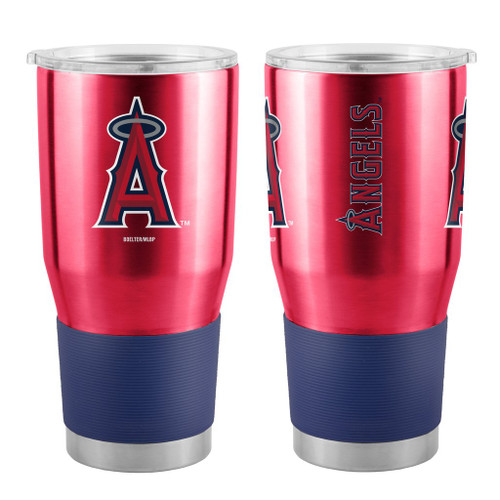 Los Angeles Angels MLB 30 oz. Curved Ultra Insulated Stainless Tumbler Mug Cup Drink Holder