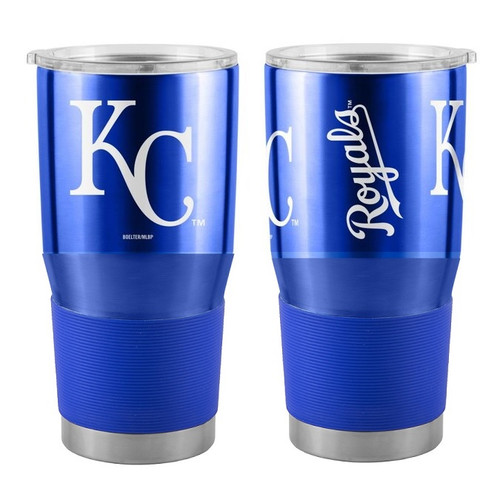 Kansas City Royals MLB 30 oz. Curved Ultra Insulated Stainless Tumbler Mug Cup Drink Holder