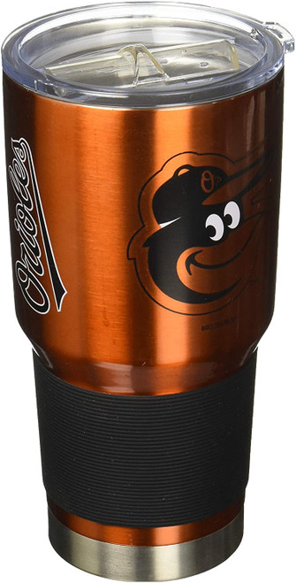 Baltimore Orioles MLB 30 oz. Curved Ultra Insulated Stainless Tumbler Mug Cup Drink Holder