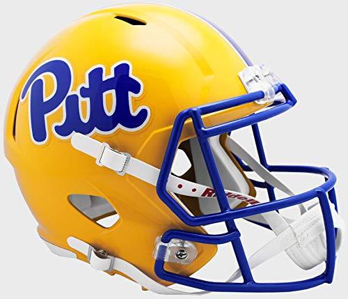 Pittsburgh Pitt Panthers NCAA Riddell Full Size Replica Speed Football Helmet