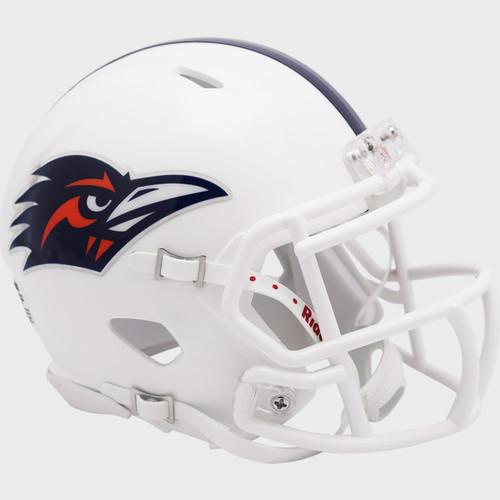 UTSA Roadrunners Texas San Antonio White NCAA Revolution SPEED Mini Football Helmet