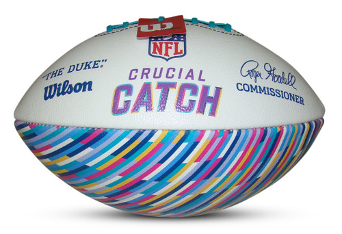 Wilson Official NFL Crucial Catch 2021 Limited Edition Football
