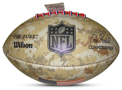 Wilson Official NFL Salute to Military Service 2021 Limited Edition Football