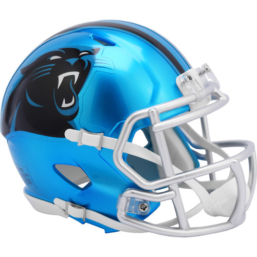 Carolina Panthers Riddell Speed Mini Helmet - New Flash Alternate