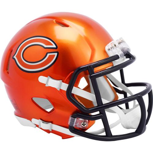 Chicago Bears Riddell Speed Mini Helmet - New Flash Alternate