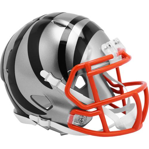 Cincinnati Bengals Riddell Speed Mini Helmet - New Flash Alternate