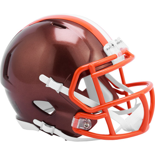 Cleveland Browns Riddell Speed Mini Helmet - New Flash Alternate