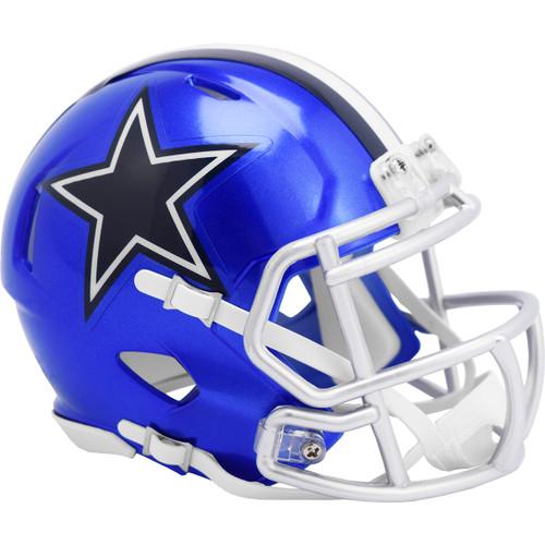 Dallas Cowboys Riddell Speed Mini Helmet - New Flash Alternate