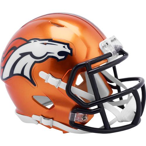Denver Broncos Riddell Speed Mini Helmet - New Flash Alternate