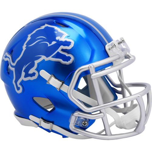 Detroit Lions Riddell Speed Mini Helmet - New Flash Alternate